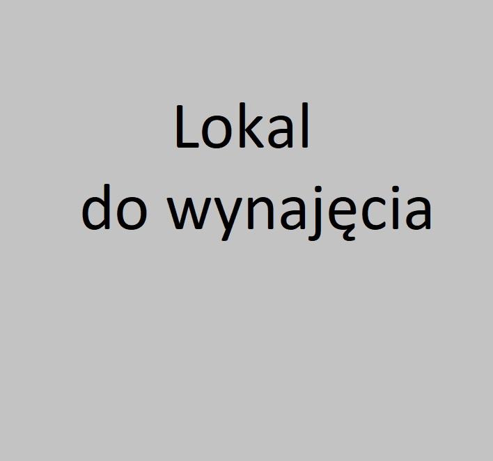 Lokal do wynajęcia – ul.Westerplatte 23
